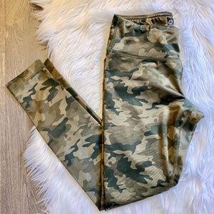 90 Degree by Reflex Camo Leggings Camouflage
